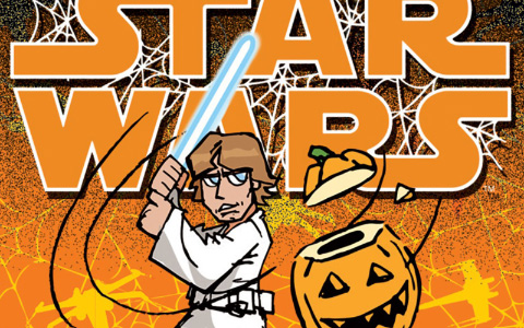 Funny Halloween Star Wars Cards