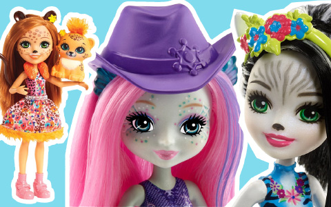 12 New Enchantimals dolls 2018
