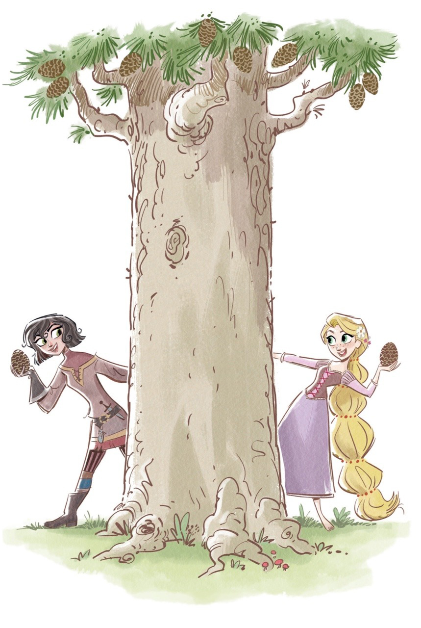 Tangled The Series Cute Illustrations Youloveit Com