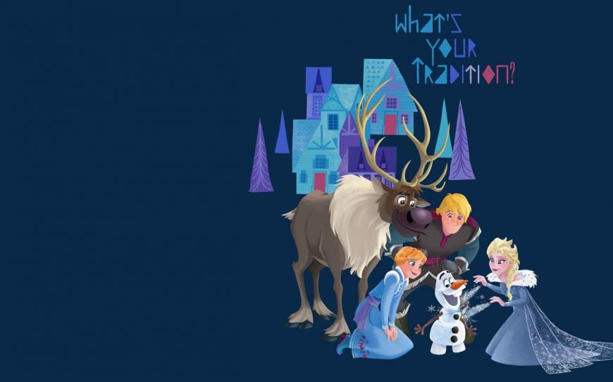 Olaf's Frozen Adventure wallpaper - Family traditions