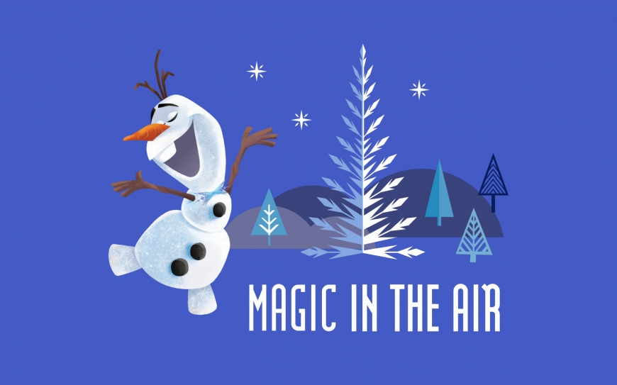 Olaf's Frozen Adventure wallpaper - Magic in the air