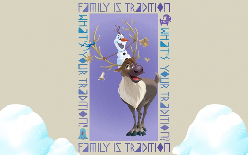 Olaf's Frozen Adventure wallpaper - Olaf and Swen
