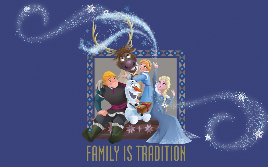 Olaf's Frozen Adventure wallpaper - winter Holidays