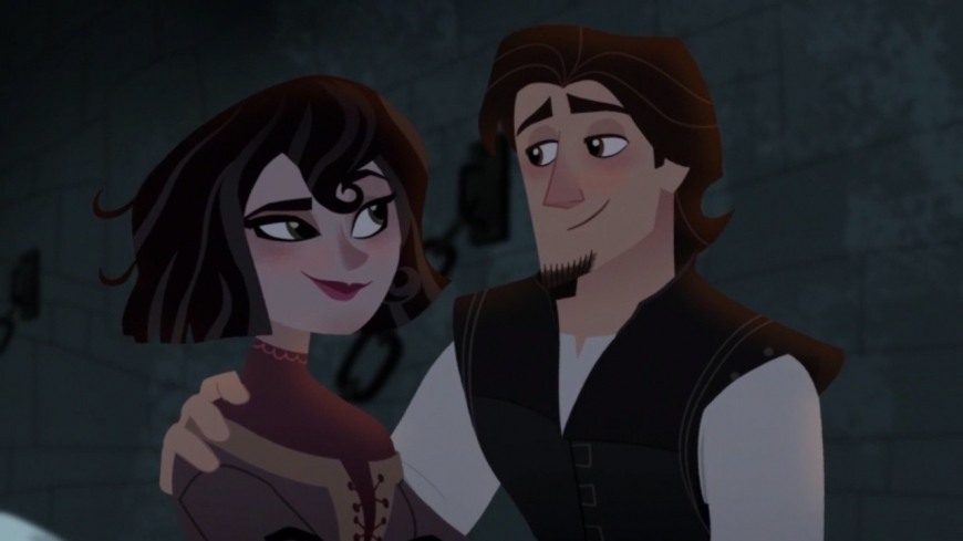 Tangled: The Series if Eugene loved Cassandra