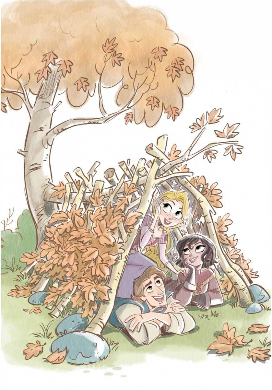 Tangled: The Series - cute illustrations