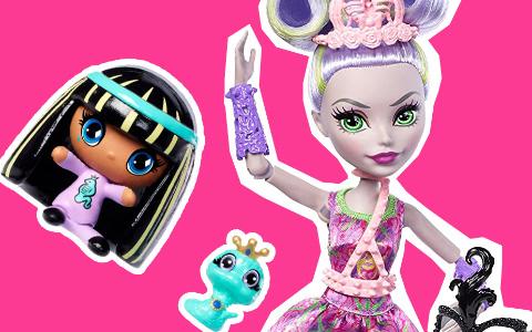 New Monster High dolls 2018: Ballerinas, Ghoul to Bat, Ghoul to Wolf, Comics style, MH Minis with pets