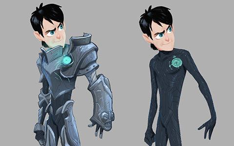 Concept art for Trollhunters