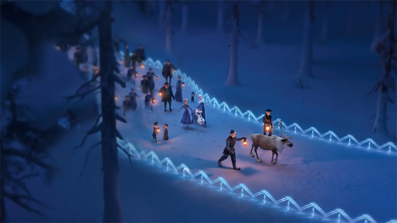 Frozen Disney: New pictures from Olafs Frozen Adventure