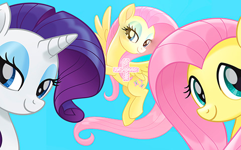 My Little Pony The Movie Fluttershy funny Face Swaps with other ponies