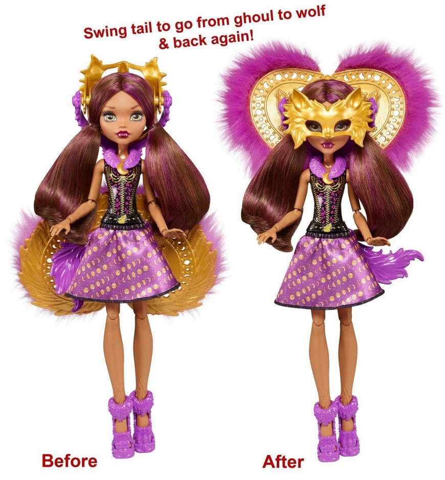 new monster high dolls 2018 ballerinas ghoul to bat ghoul to wolf