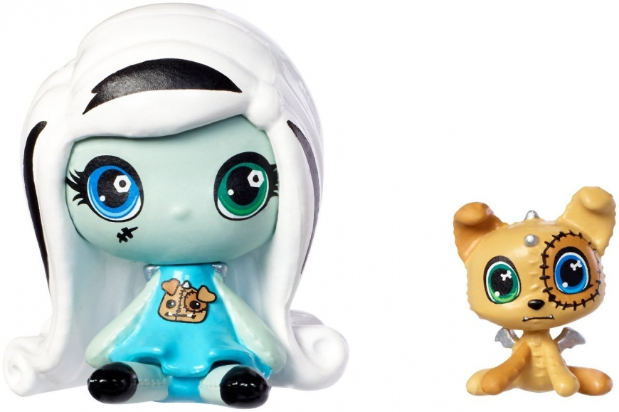 Monster High dolls Minis with pets