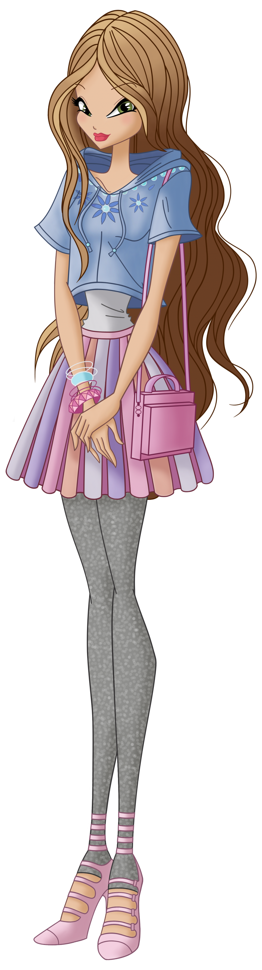 Flora World of Winx casual style
