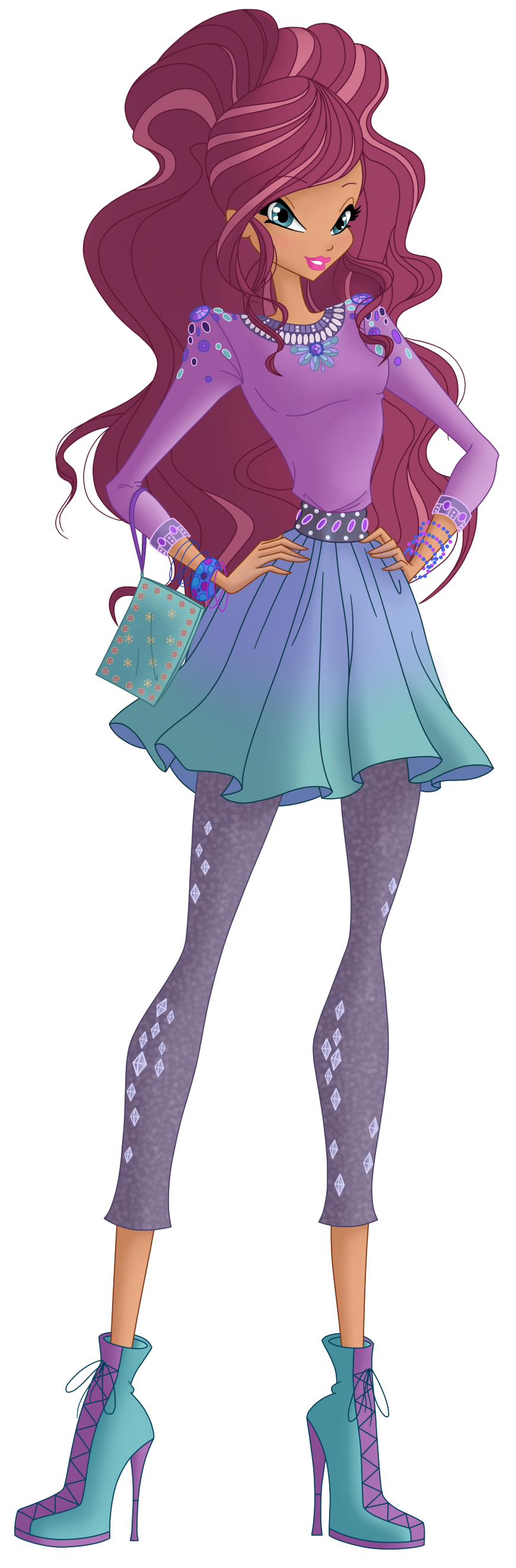 Layla World of Winx casual style
