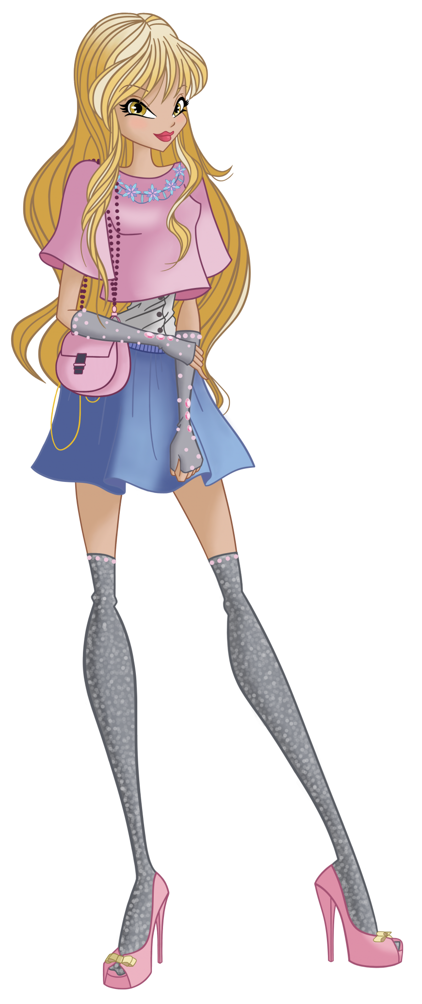Stella World of Winx casual style