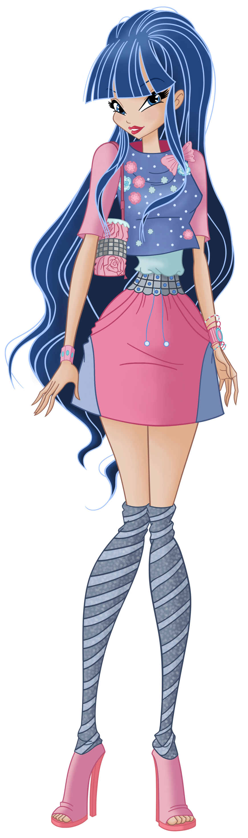 Musa World of Winx casual style