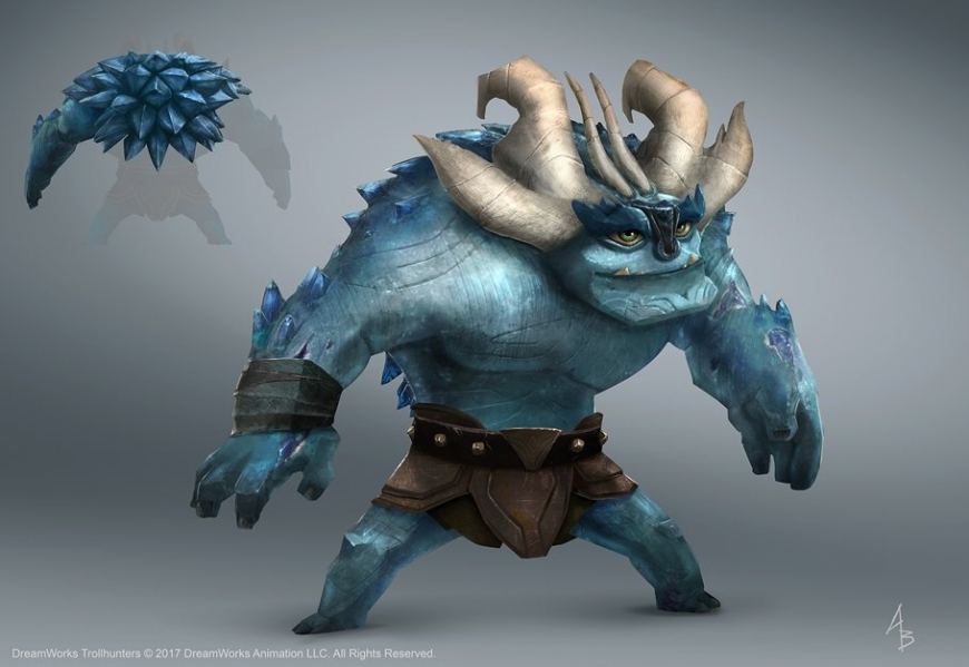 Trollhunters concept art