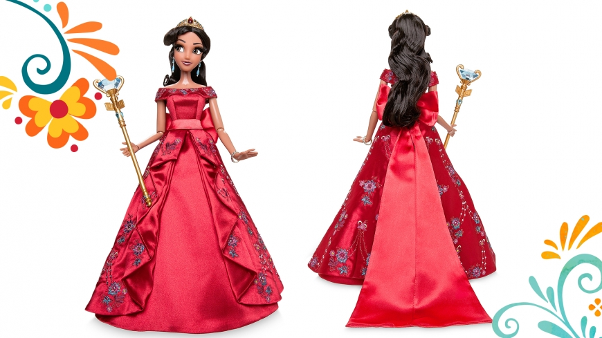 Elena of Avalor first Limited Edition Designer Doll from Disney