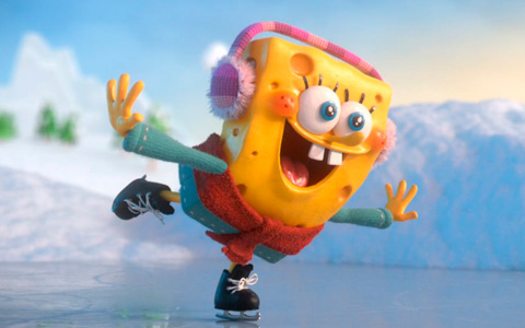 Christmas (Winter Holidays) campaign for Nickelodeon from Aardman Nathan Love