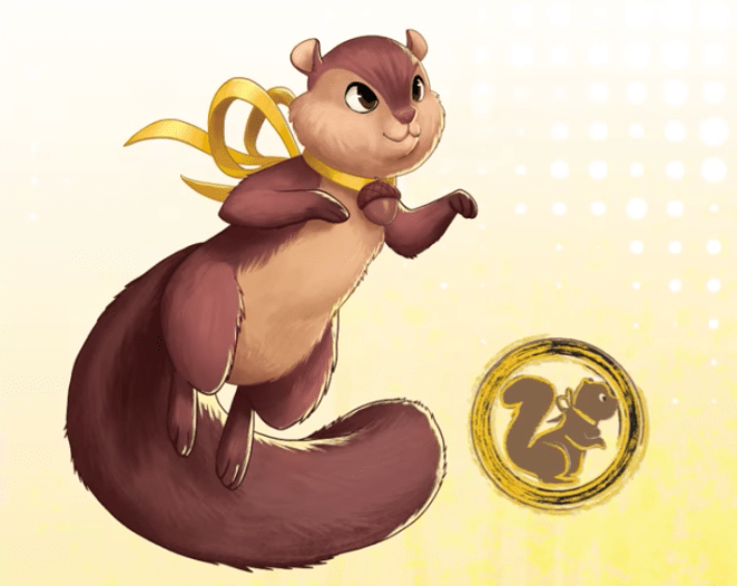 Marvel Rising Tippy Toe squirrel