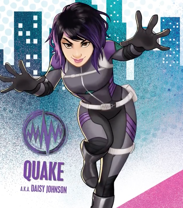 Marvel Rising Quake