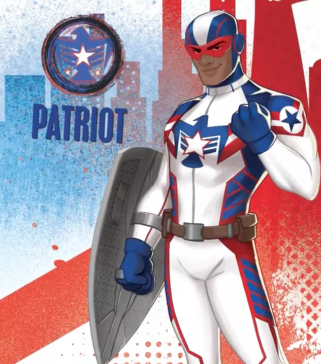 Marvel Rising Patriot