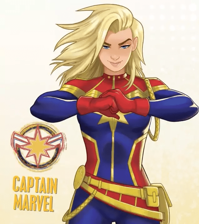 Marvel Rising Captain Marvel