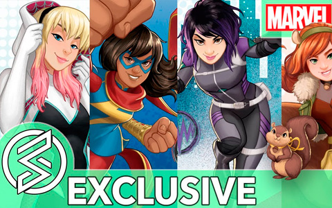 "Girl Power and The Next Generation of Marvel Heroes in ""Marvel Rising: Secret Warriors"""