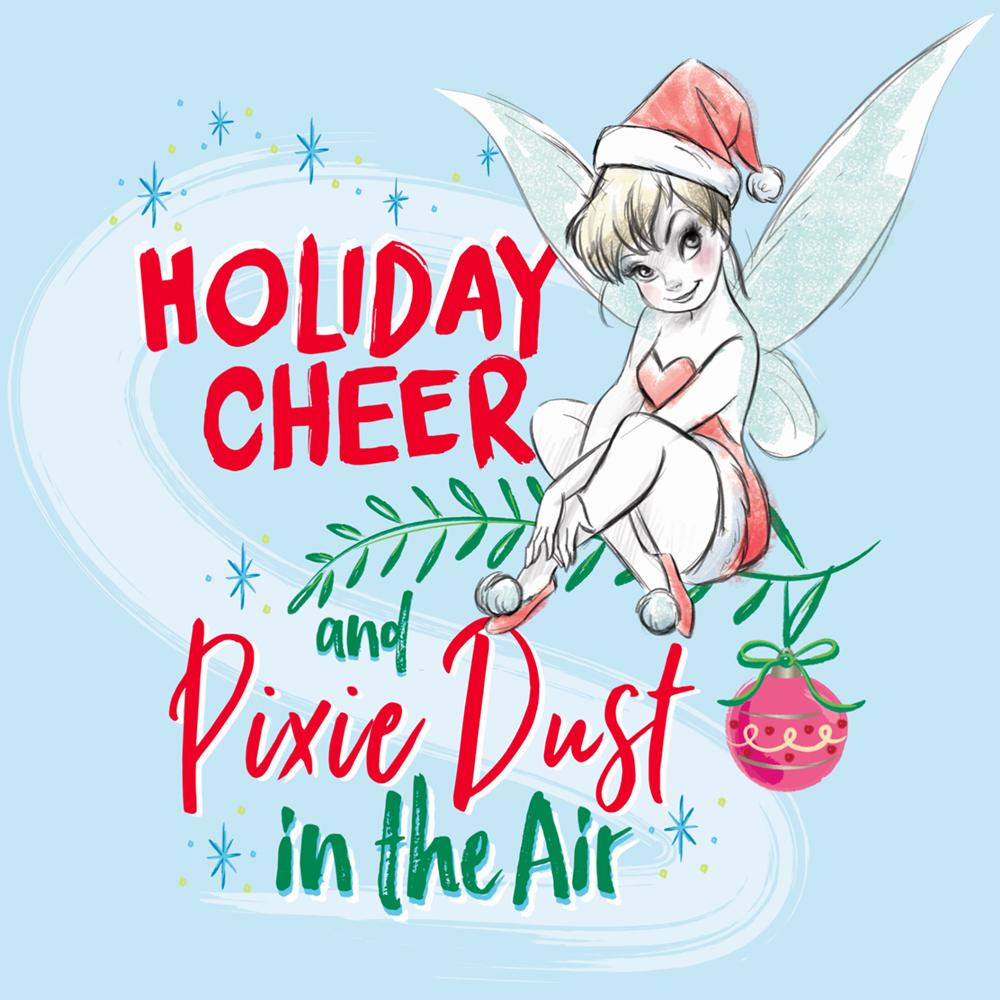 disney fairies tinker bell merry christmas pictures