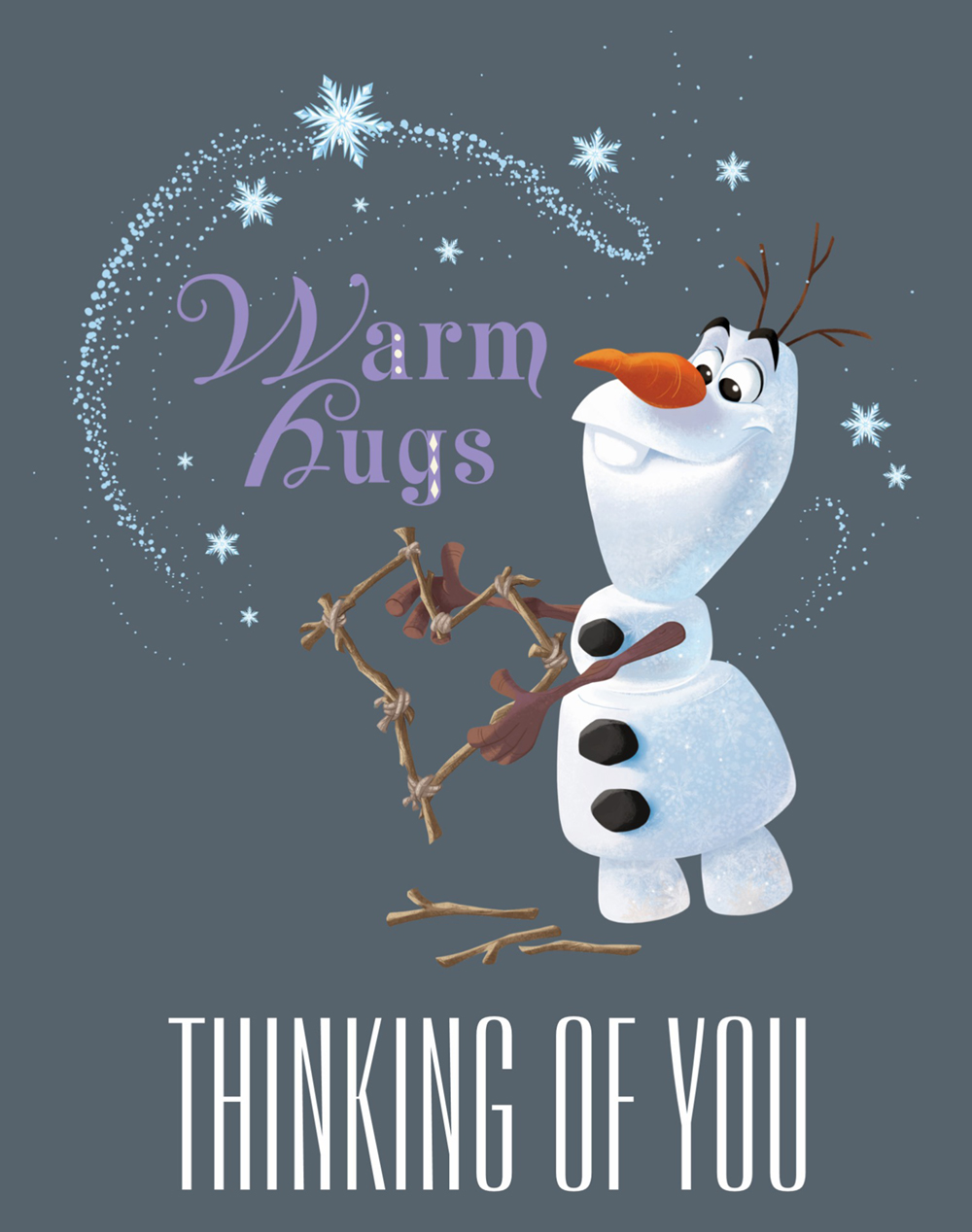 Disney christmas cards youloveit olafs frozen adventure christmas card holiday greeting m4hsunfo