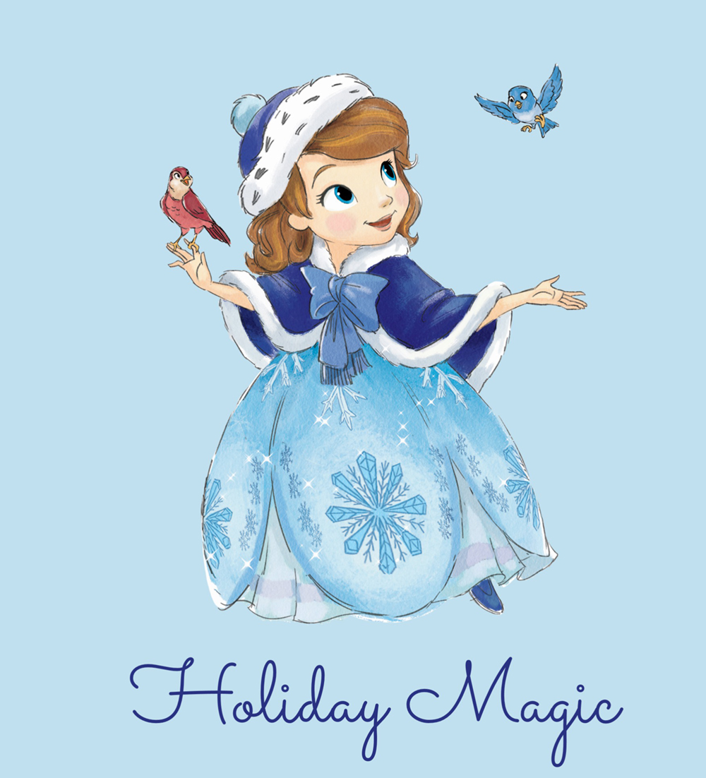 sofia the first christmas card picture