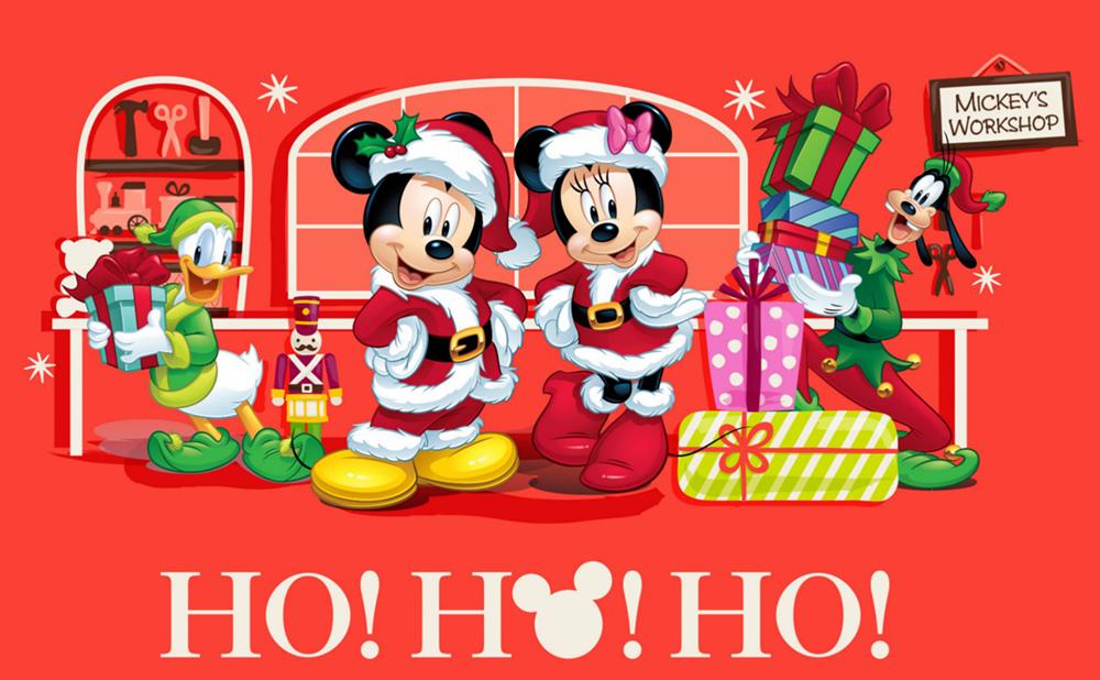 Disney Christmas Cards - YouLoveIt.com
