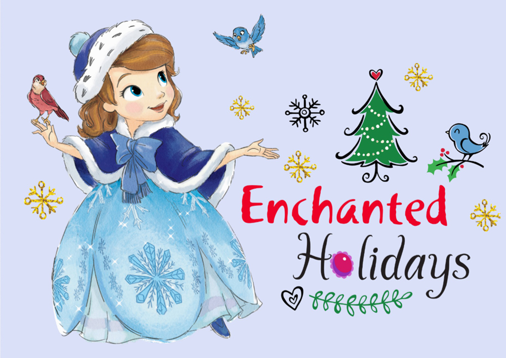 sofia the first christmas card picture - When Was The First Christmas