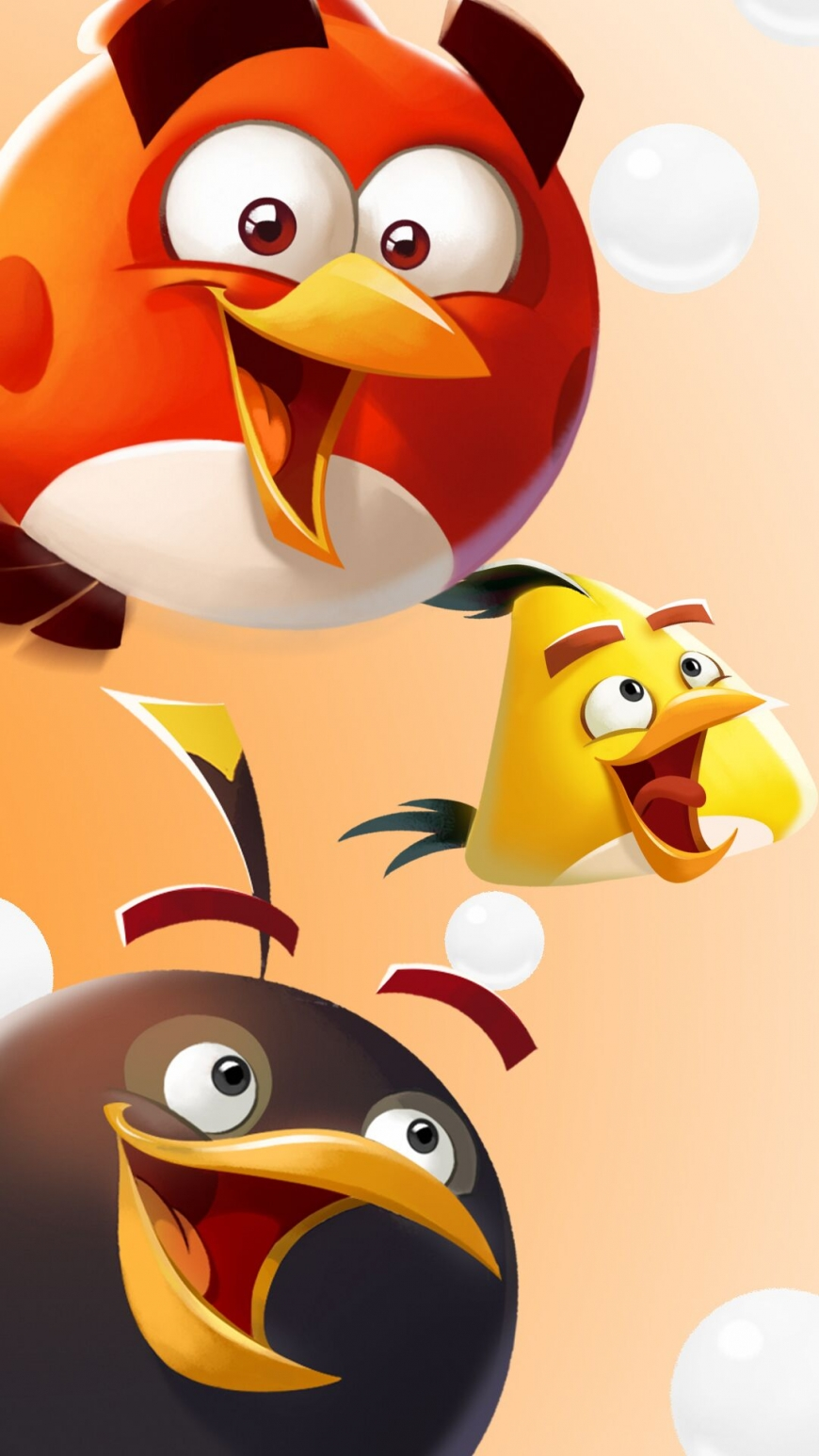 Angry Birds holiday wallpapers