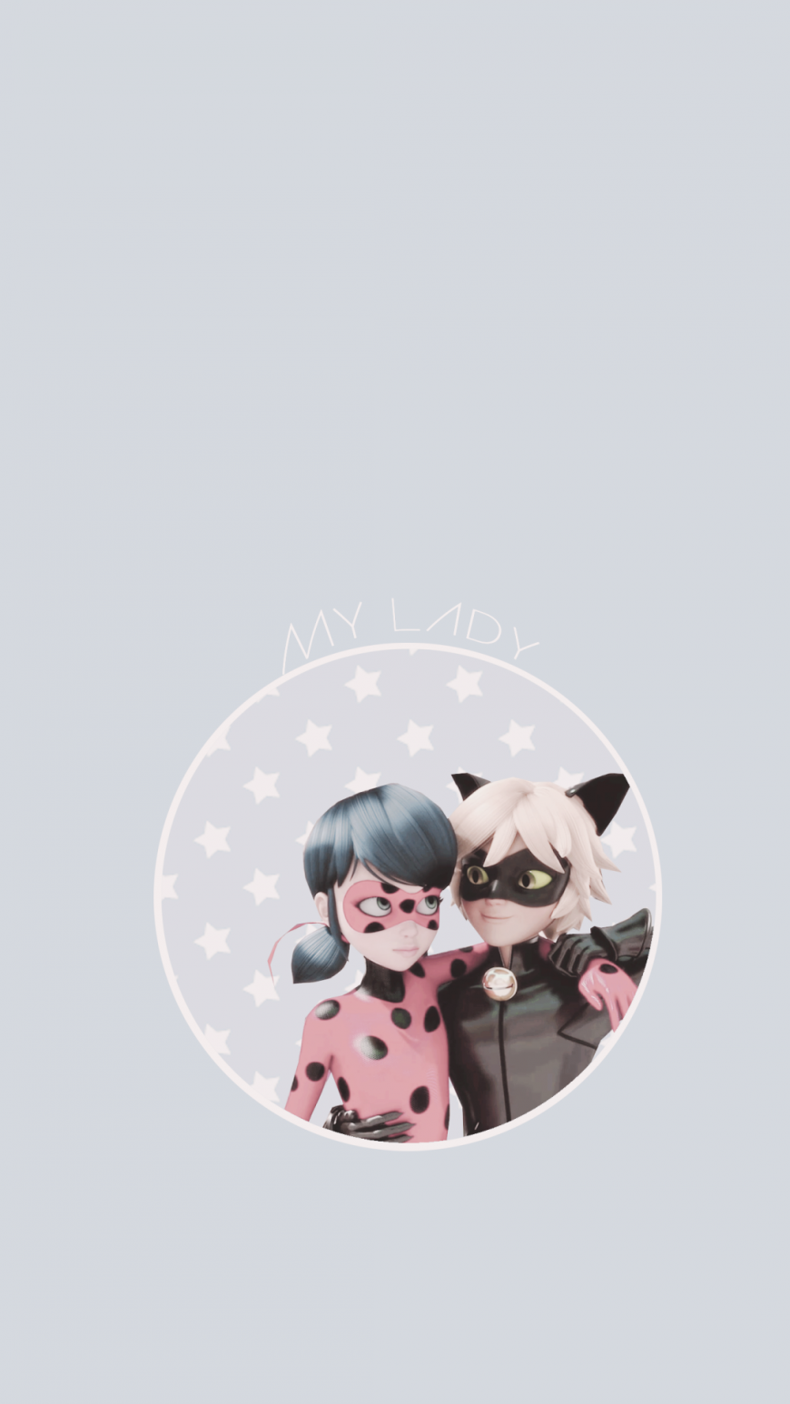 Miraculous Ladybug pastel phone wallpspers