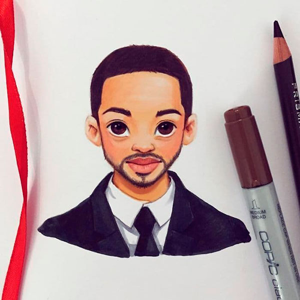Will Smith as toon