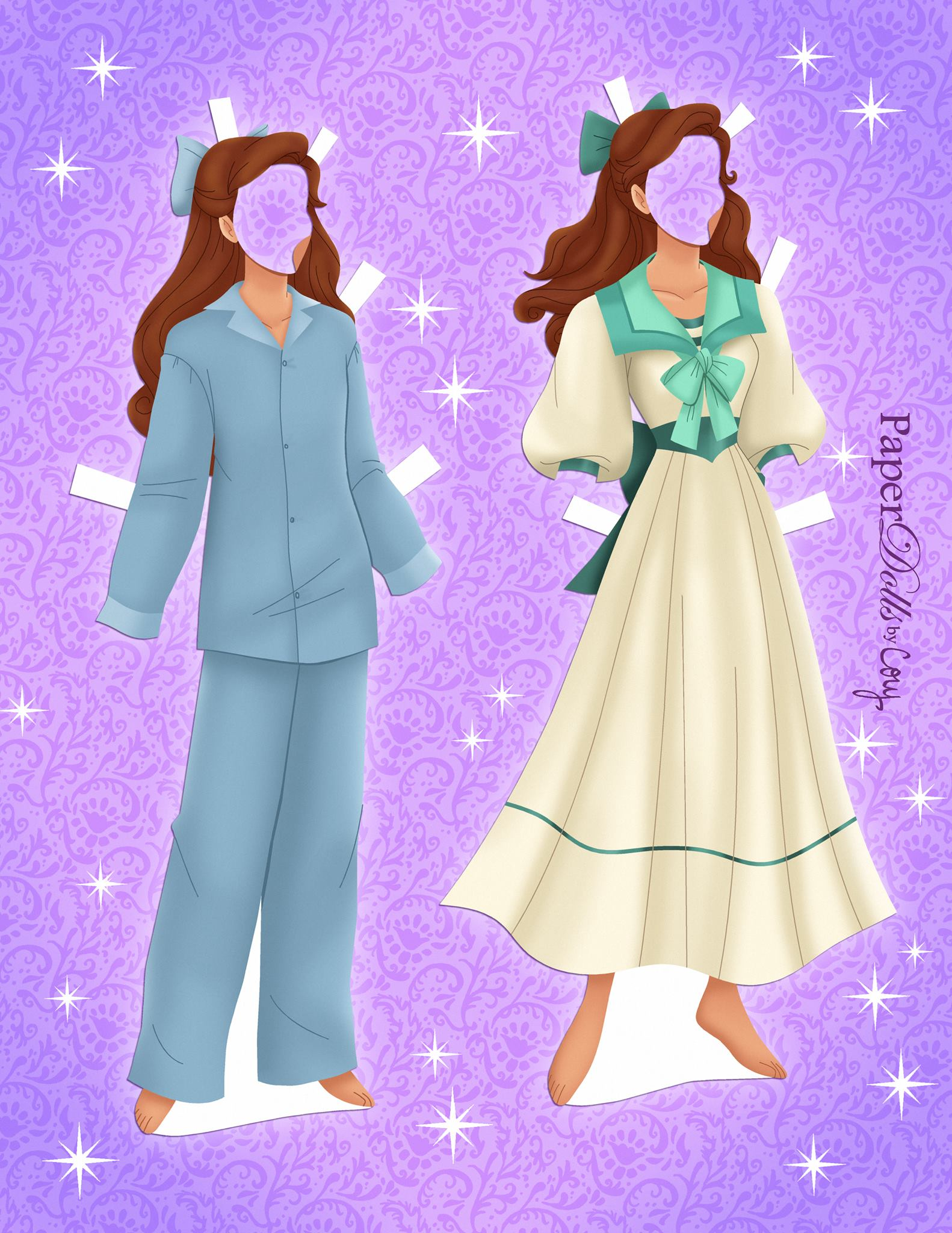 Anastasia Paper Doll With Clothes Youloveit Com