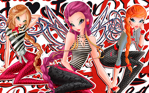 Winx Club in World of Winx and couture style wallpapers