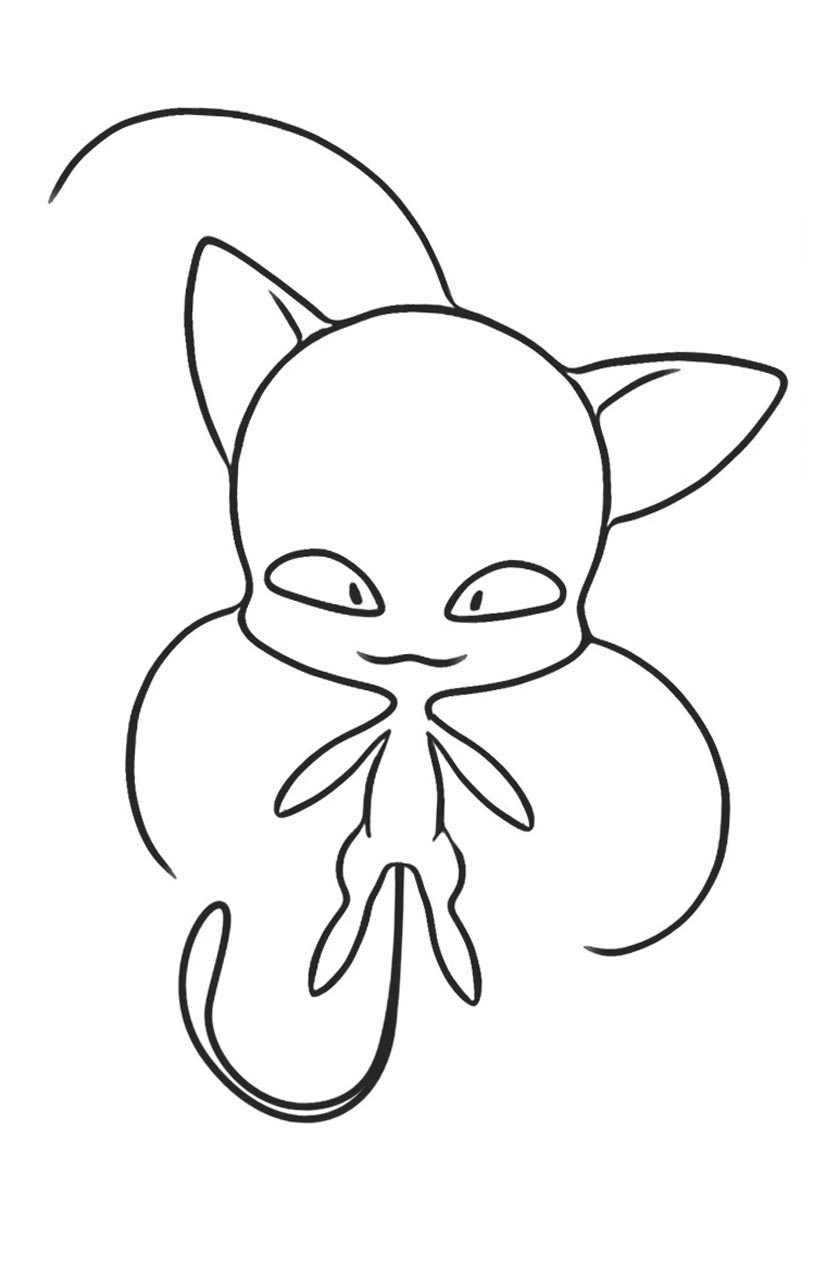 Miraculous Ladybug new coloring pages