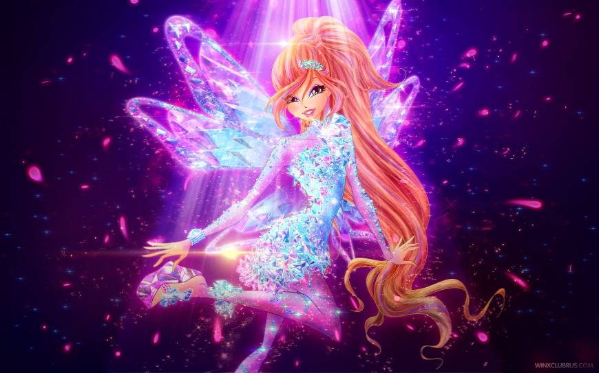 Winx Club Bloom Tynix couture wallpaper