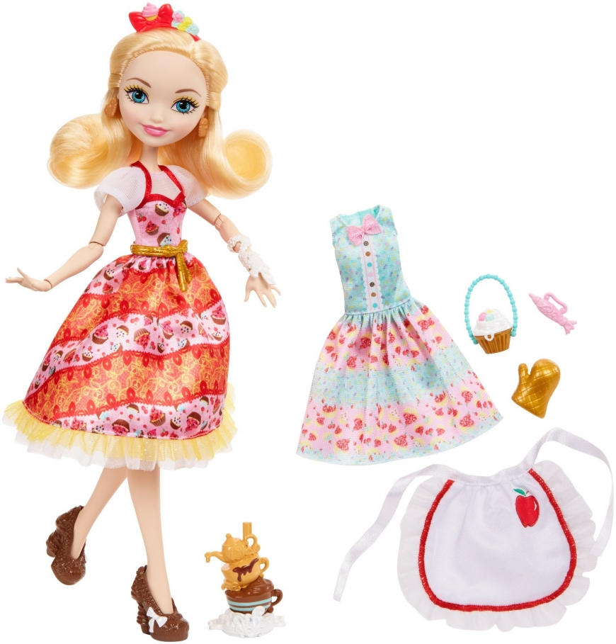 Ever After High 2018 new doll Apple White bake sweet