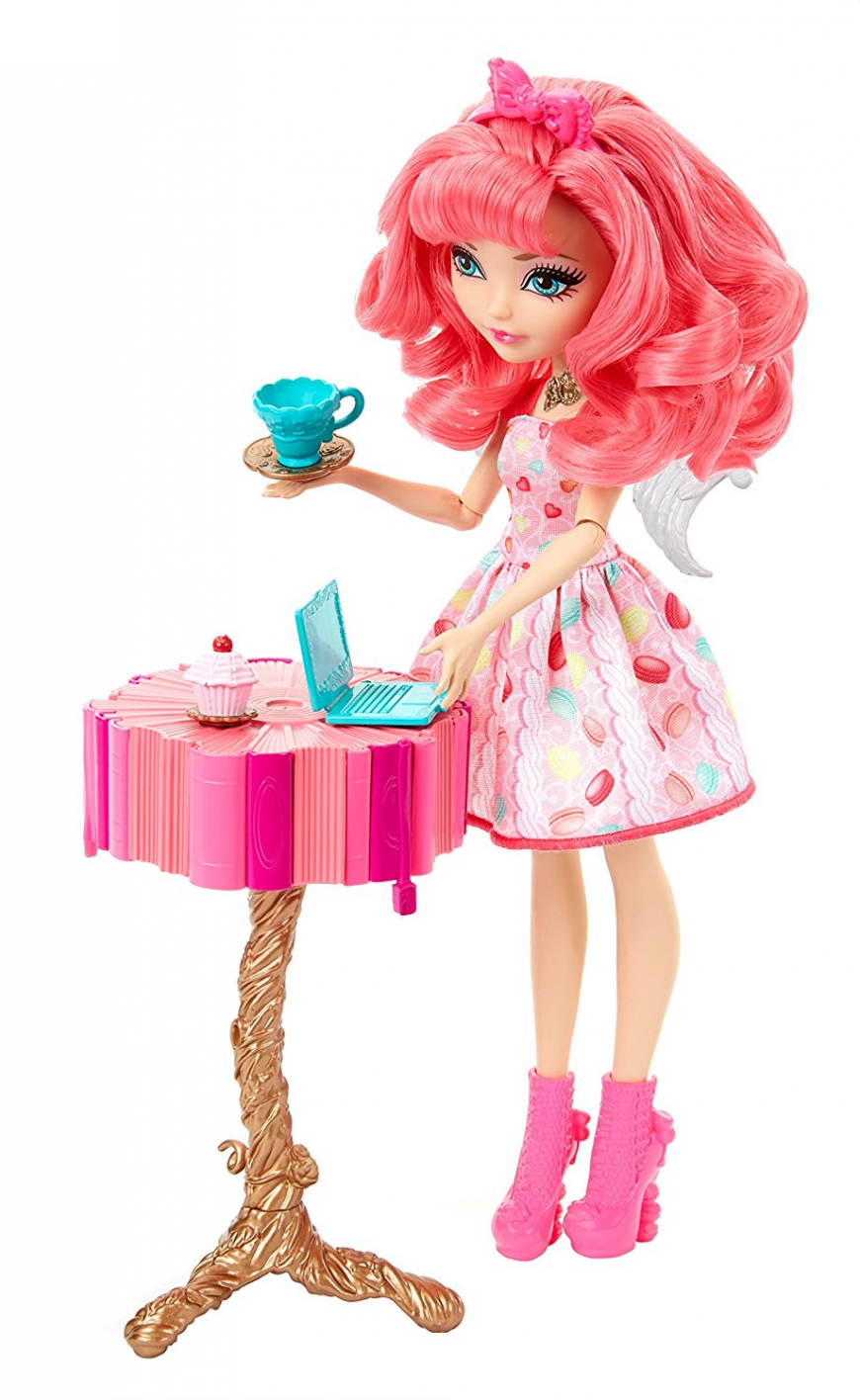Ever After High 2018 new doll C.A. Cupid bake sweet