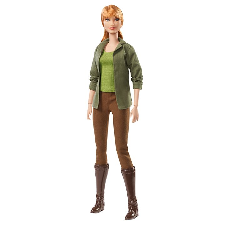 New 2018 Jurassic World Barbie Claire doll