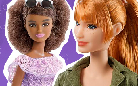 New 2018 Barbie Fashionistas, Pink Passport and Jurassic Wold dolls
