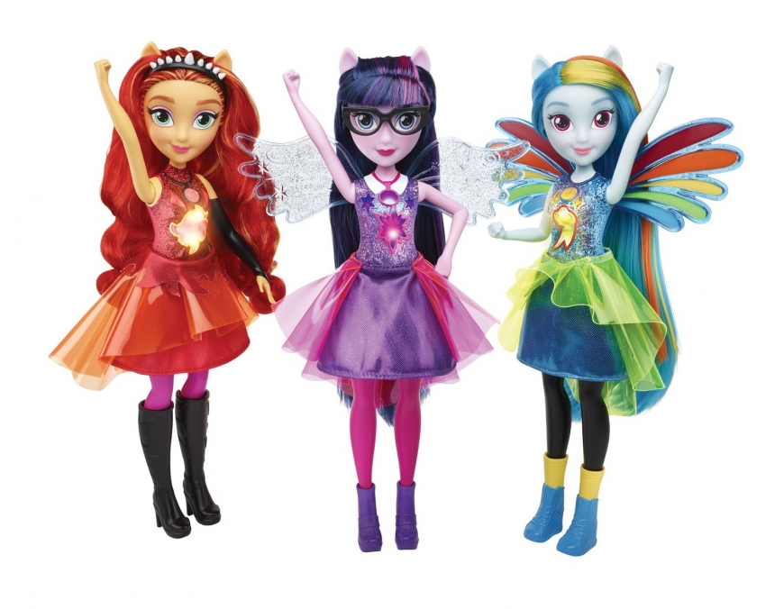 New My Little Pony Equestria Girls Friendship Power dolls
