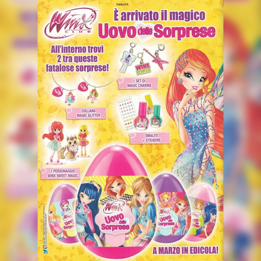 New super cool Winx Club egg surprise in Italy launch in March