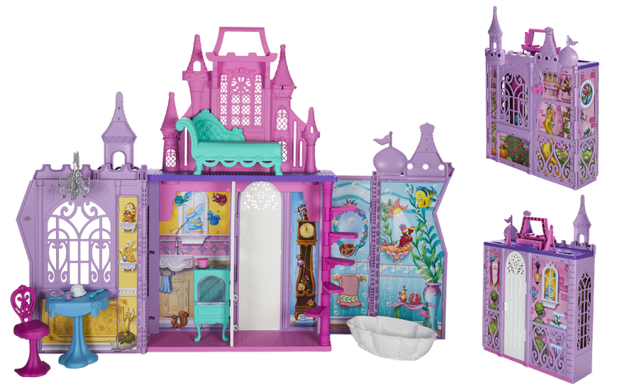 DISNEY PRINCESS POP UP PALACE Playset