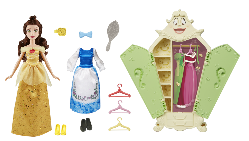 DISNEY PRINCESS BELLE'S WARDROBE Set