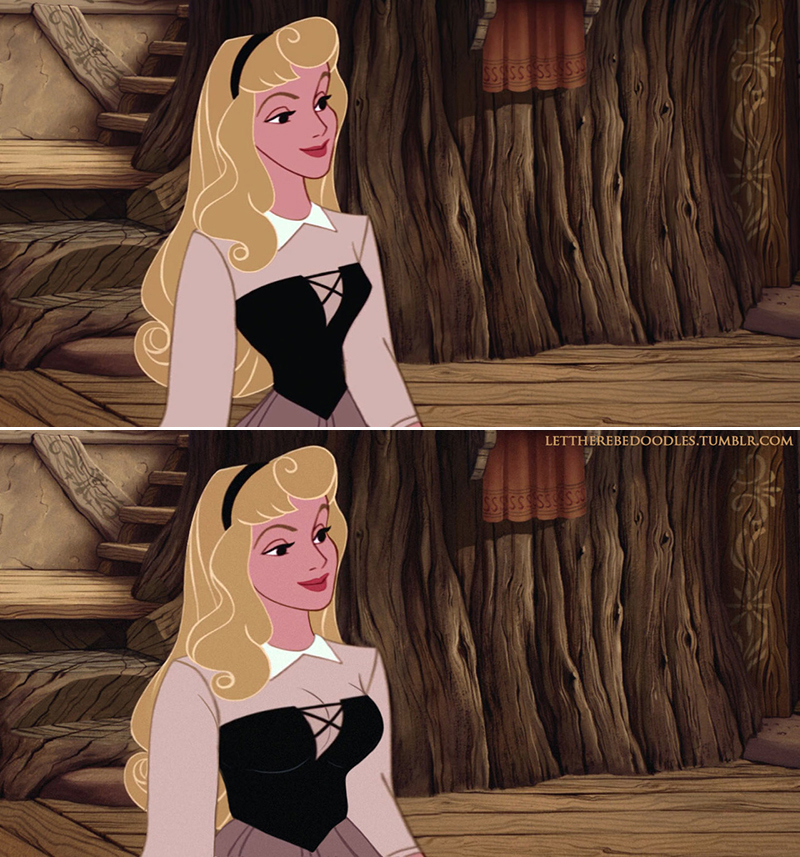 urvy Disney Princess Aurora