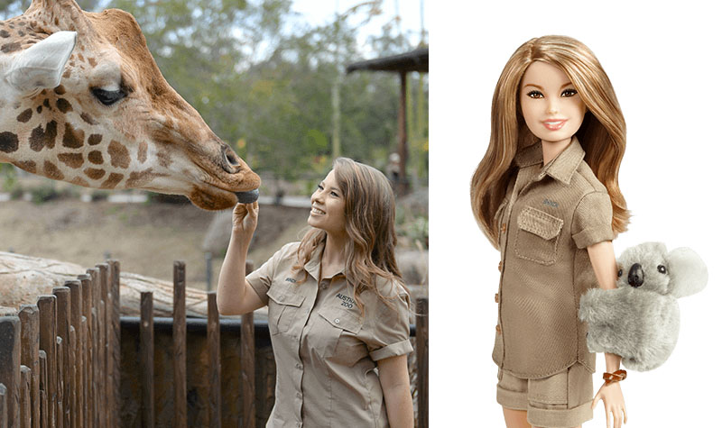Bindi Irwin Barbie doll