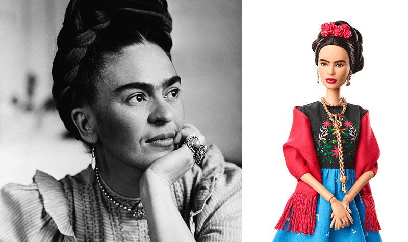 Frida Kahlo Barbie doll